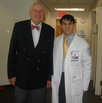 Dr. Su with Dr. Amstutz